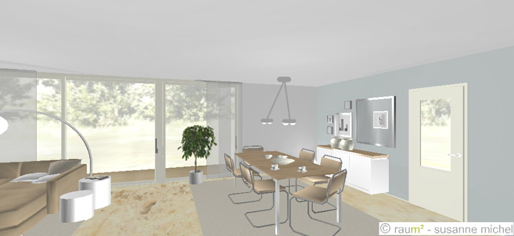 Planung Esszimmer raum² - wir machen wohnen