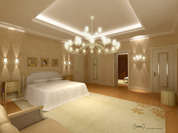 Camera da letto orientale homify Camera da letto in stile mediterraneo