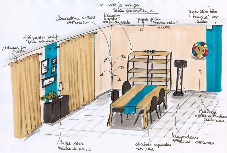 Projet salle à manger Atelier Inside Salon