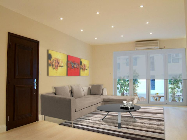Living Room Oui3 International Limited Modern houses