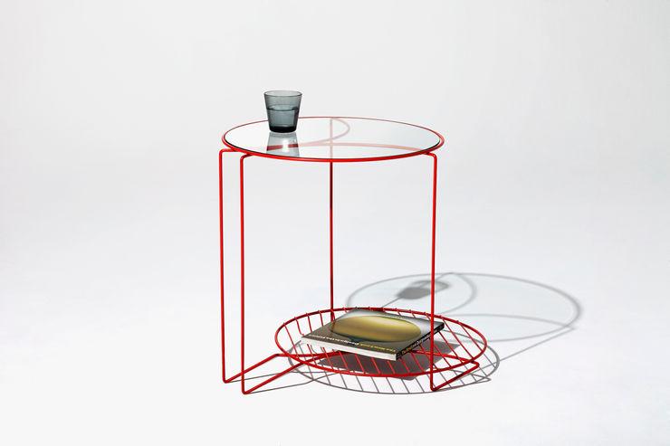kage table Shinn Asano Design Co. ltd. リビングルームサイドテーブル&トレー
