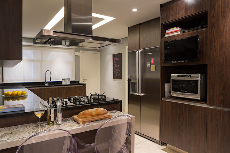 Lore Arquitetura 現代廚房設計點子、靈感&圖片
