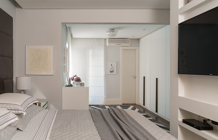 Lore Arquitetura Modern style bedroom