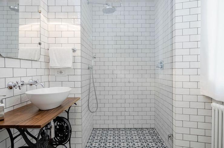 NOMADE ARCHITETTURA E INTERIOR DESIGN Industrial style bathroom