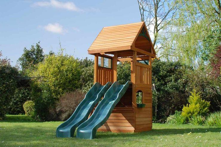Climbing Frame for Smaller Garden Selwood Products Ltd Modern Garden