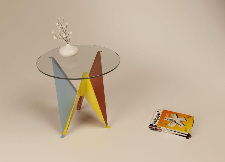Lily Diego De Conca Architetto 客廳邊桌與托盤