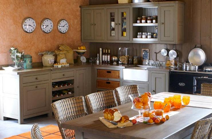 Grange México Built-in kitchens Solid Wood Orange