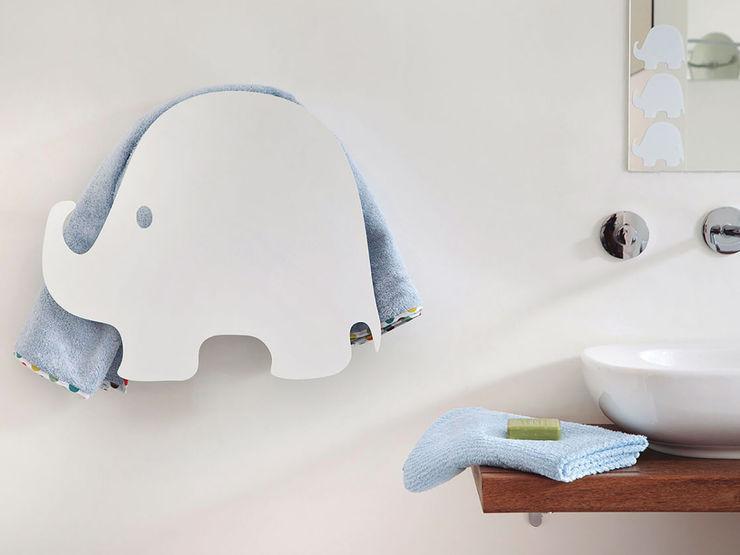 Elephant - electric towel warmer MG12 BathroomTextiles & accessories Aluminium/Zinc White
