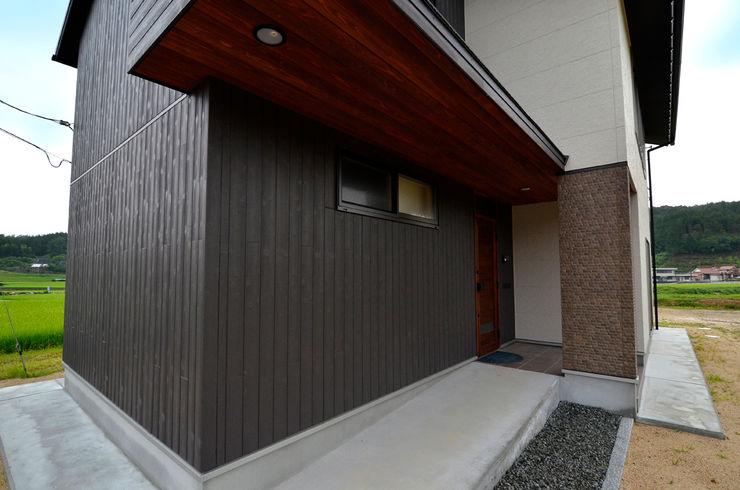 宮崎環境建築設計 Casas modernas