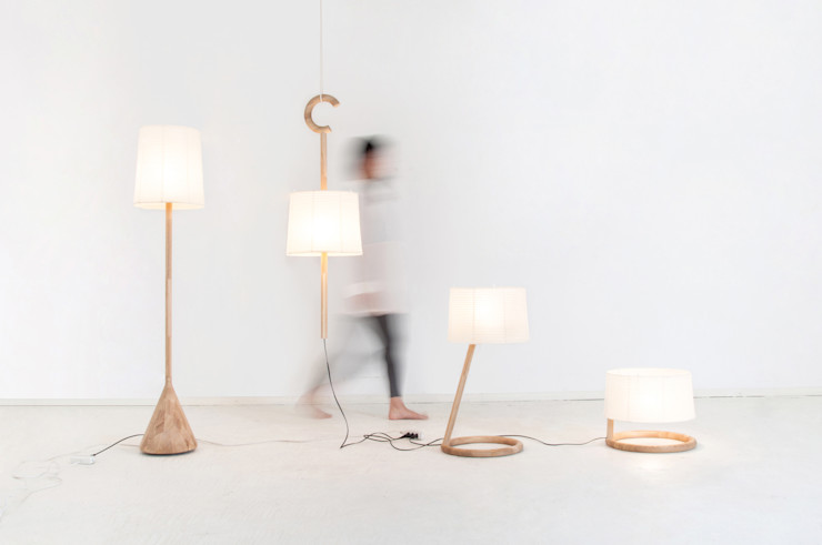 TRANS LAMP Kairi Eguchi Design Living roomLighting