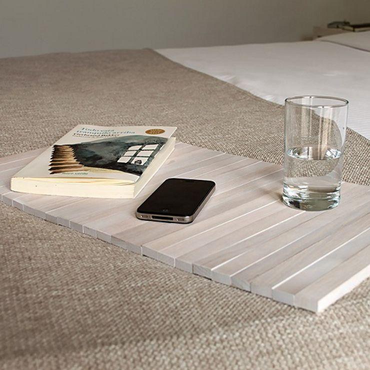 Bandeja flexible de madera - DETRAY WHITE debosc DormitoriosCamas y cabeceros