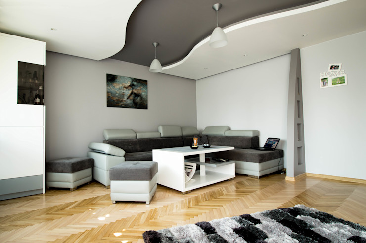 Bednarski - Usługi Ogólnobudowlane Modern Oturma Odası