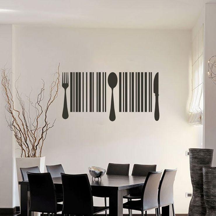 Vinilo decorativo Código de barras Goodvinilos Paredes y pisosDecoración para la pared