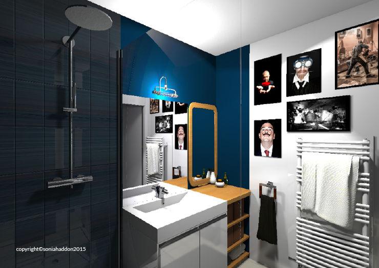 Sonia HADDON Interior Designer Modern bathroom