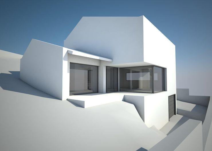 VIVIENDA UNIFAMILIAR EN A BARXA arquitectura SEN MÁIS