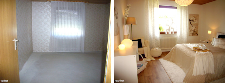 Home Staging raum² - wir machen wohnen Moderne Schlafzimmer