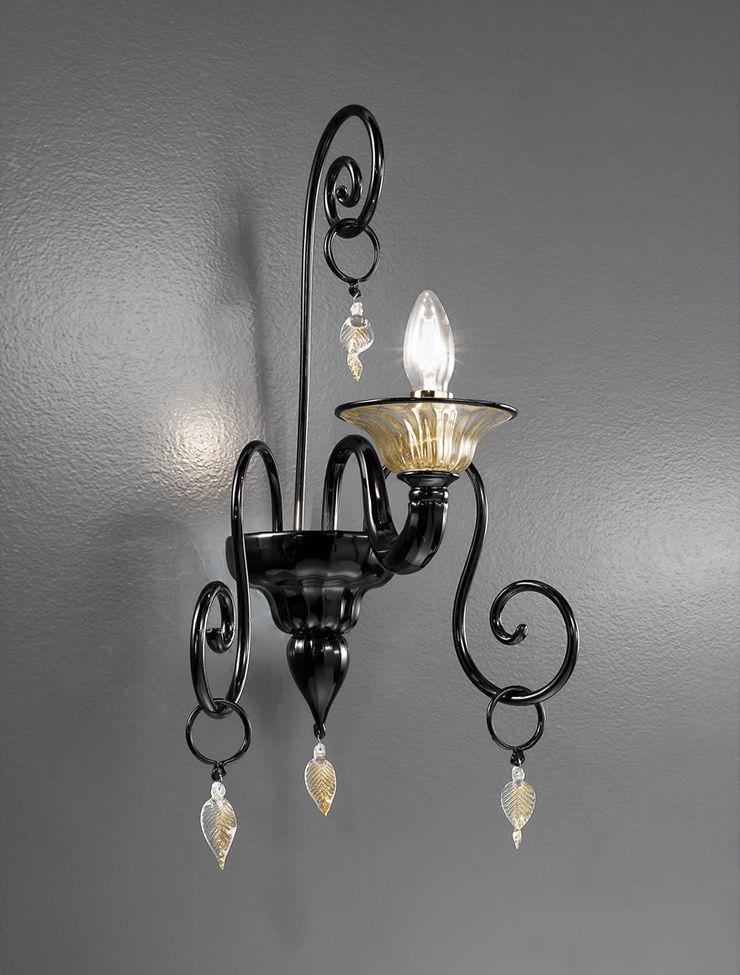 Applique in cristallo di Murano Vetrilamp Vetrilamp ArteAltri oggetti d'arte