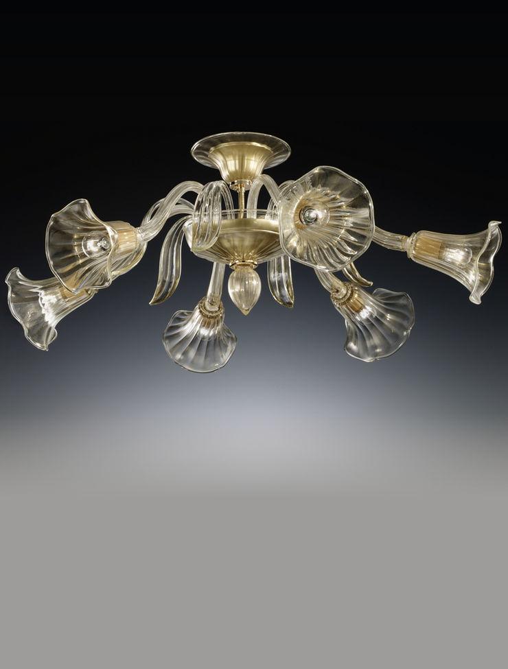 Plafoniera in cristallo Vetrilamp Vetrilamp ArteAltri oggetti d'arte