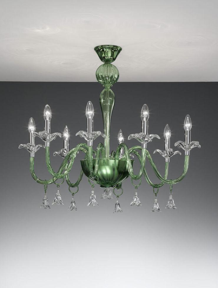 Plafoniera in vetro colorato Vetrilamp Vetrilamp ArteAltri oggetti d'arte