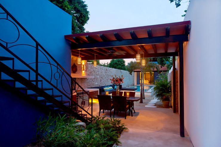 Terraza Taller Estilo Arquitectura Balcones y terrazas de estilo mediterráneo