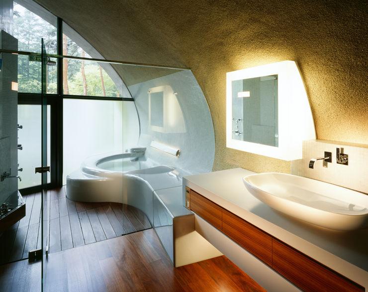 SHELL ARTechnic architects / アールテクニック Modern bathroom