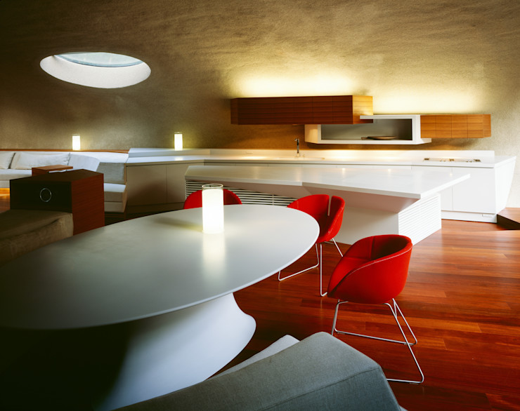 SHELL ARTechnic architects / アールテクニック Modern media room