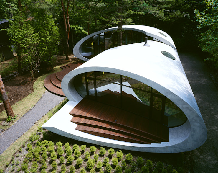 SHELL ARTechnic architects / アールテクニック モダンな 家