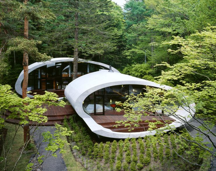 SHELL ARTechnic architects / アールテクニック บ้านและที่อยู่อาศัย