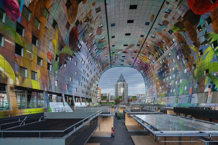 Markthal Rotterdam MVRDV Ruangan