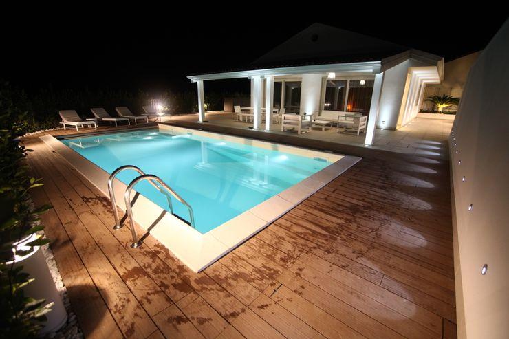Private Villa in Sicily StudioCR34 Case in stile minimalista