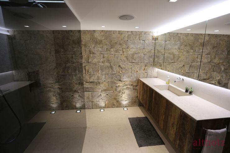 altholz, Baumgartner & Co GmbH Phòng tắm phong cách hiện đại