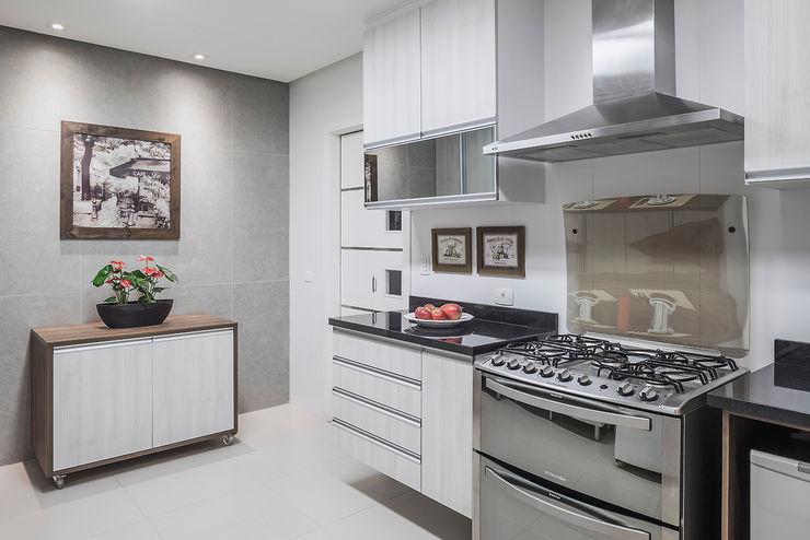 Cozinha integrada Lúcia Vale Interiores Cocinas de estilo moderno