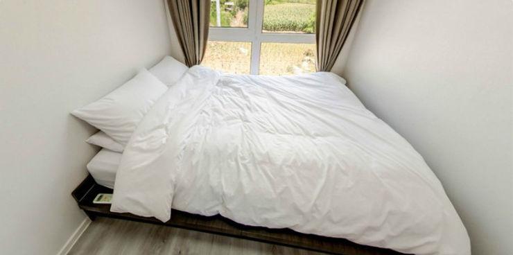 큐브디자인 건축사사무소 Modern Bedroom