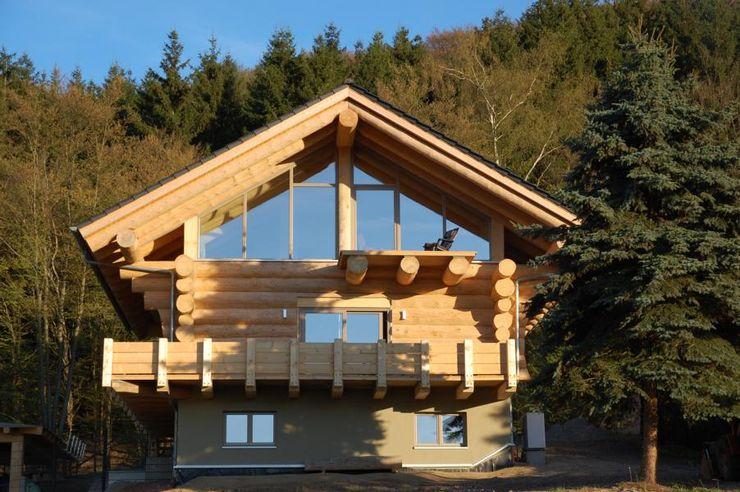Blockhäuser eb Massivhaus Deutschland GmbH Ausgefallene Häuser