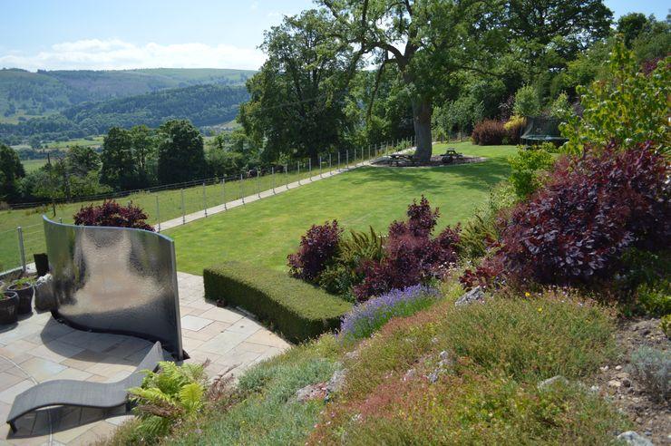 Large Terraced Garden Unique Landscapes Сад