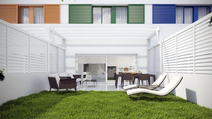 Jardín Gramil Interiorismo II - Decoradores y diseñadores de interiores Jardines de estilo minimalista