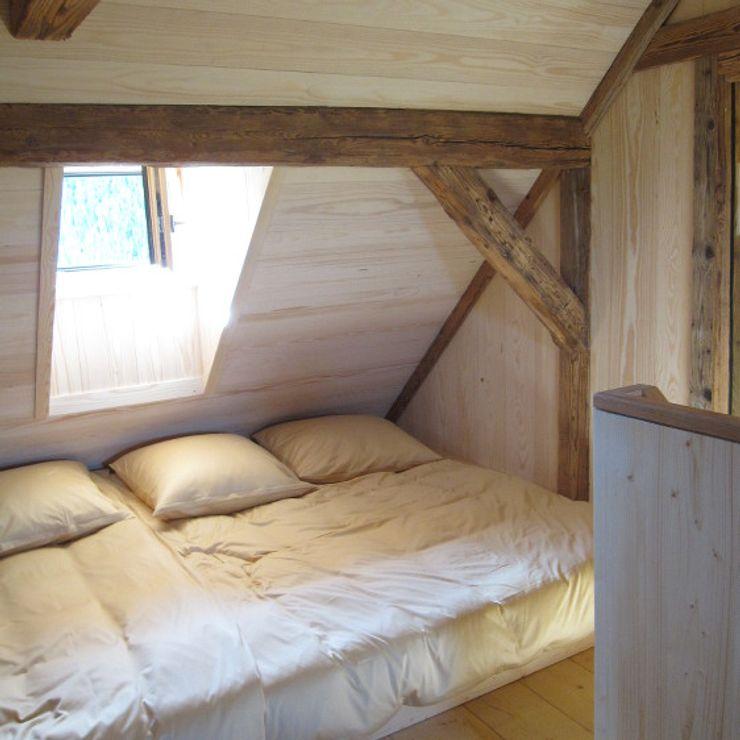Gästezimmer, Schlafgelegenheit homify Schlafzimmer im Landhausstil