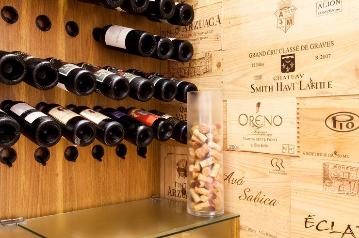 ArkDek Eclectic style wine cellar