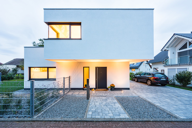 Balance House - Single Family House in Weinheim, Germany Helwig Haus und Raum Planungs GmbH Casas modernas