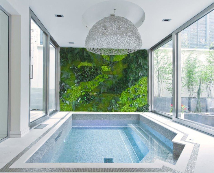 Stephanie Coutas's projects Stephanie Coutas Modern pool