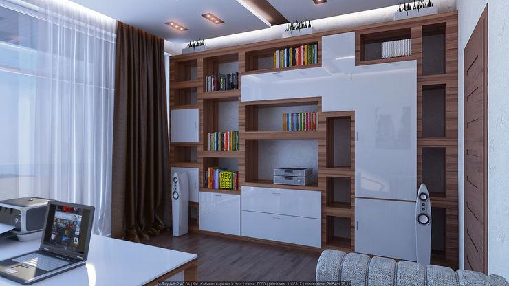 Рабочий кабинет Architoria 3D Рабочий кабинет в стиле минимализм