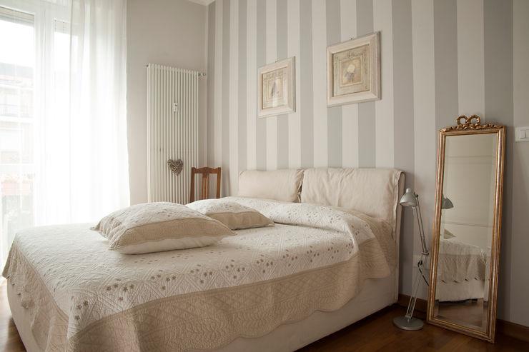 _Mondrian Home_ Alessandro Multari Ingegnere - I AM puro ingegno italiano Camera da letto in stile classico