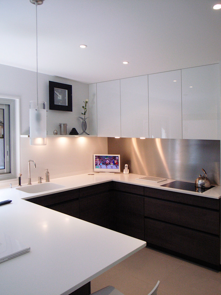 Jean-Paul Magy architecte d'intérieur Modern kitchen