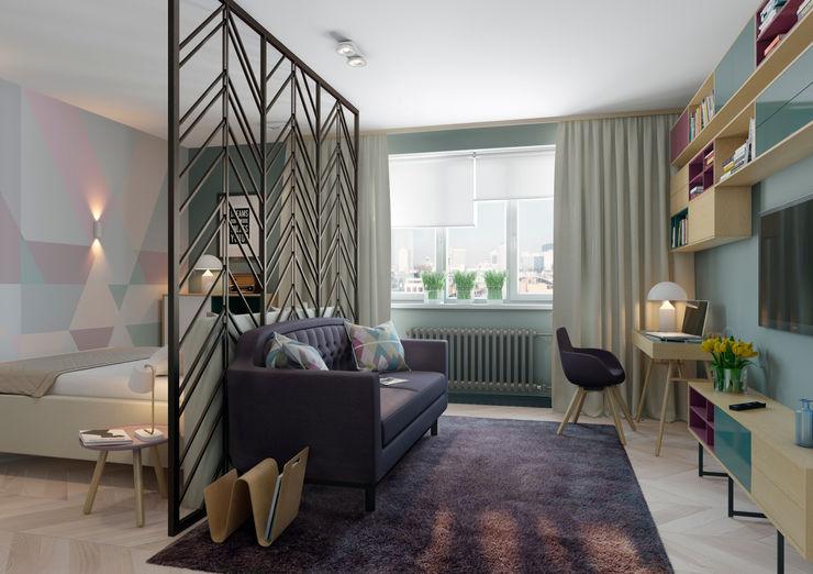 Anna Clark Interiors Living room