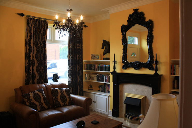 after Girl About The House Living roomFireplaces & accessories Yellow