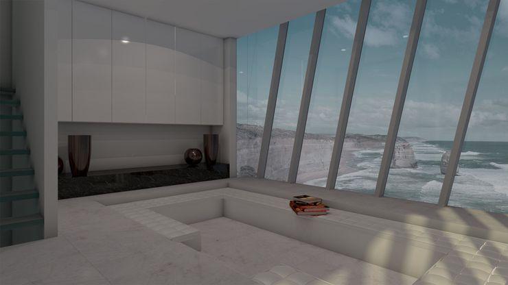 Cliff House by Modscape Concept internal Modscape Holdings Pty Ltd