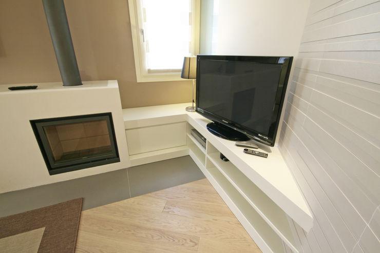 House in Marostica Diego Gnoato Architect Soggiorno moderno