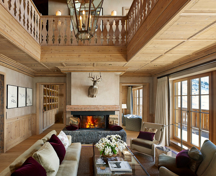Skyfall Living Room Architectural Interiors + Superyacht Photographer غرفة المعيشة