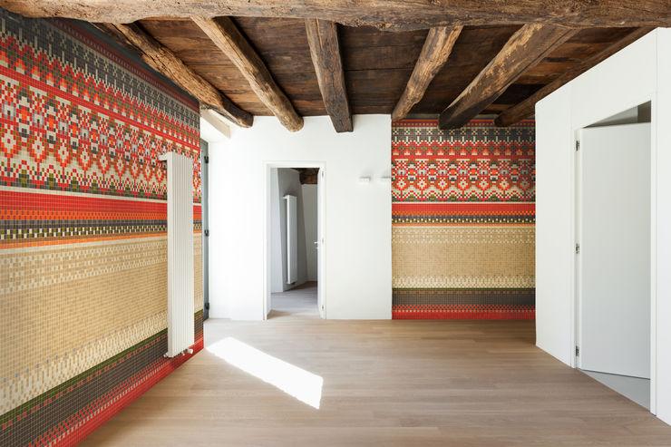 Ethno Trufle Mozaiki Tường & sàn phong cách đồng quê
