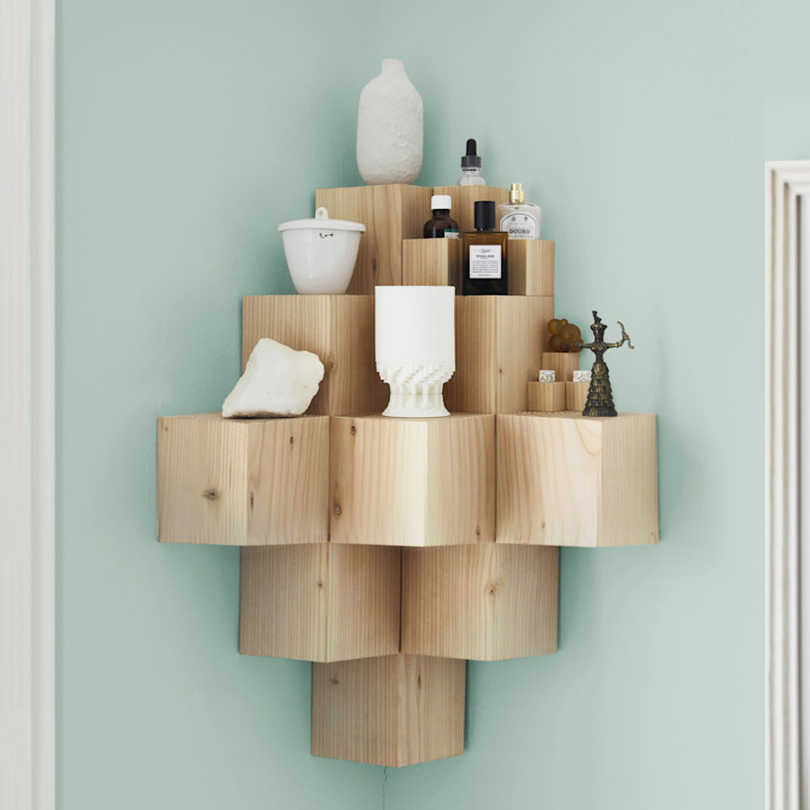 FUNDAMENTAL.BERLIN Living roomShelves